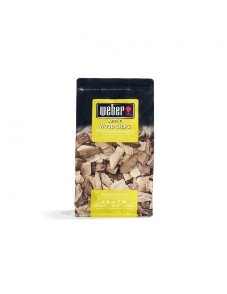 Copeaux de bois de fumage - Pomme 700gr Weber Cuisson et entretien
