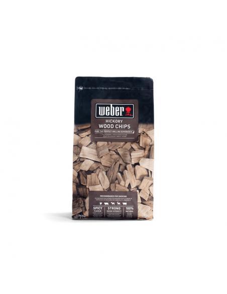 Copeaux de bois de fumage - Hickory 700gr Weber Cuisson et entretien