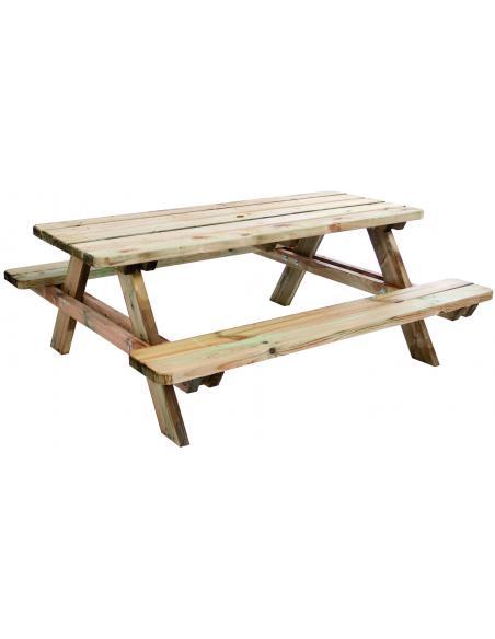 Table de picnic Matisse 180 cm Forest Style Salons de jardin repas