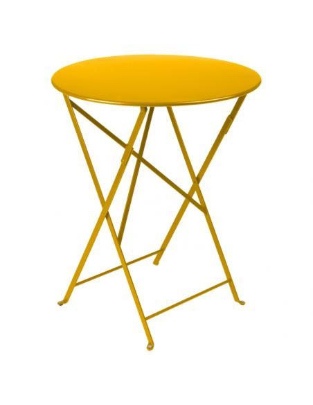 Table pliante Bistro miel Fermob Salons de jardin repas