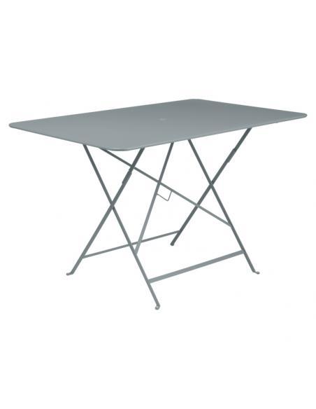 Table pliante Bistro gris orage Fermob Salons de jardin repas