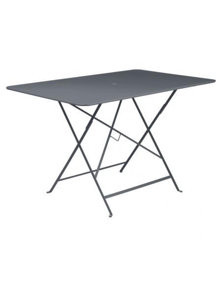 Table pliante Bistro carbone Fermob Salons de jardin repas