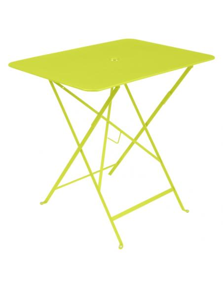 Table pliante Bistro verveine Fermob Salons de jardin repas
