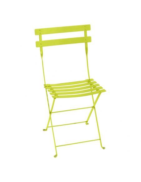 Chaise pliante Bistro verveine Fermob Salons de jardin repas