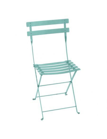 Chaise pliante Bistro lagune Fermob Salons de jardin repas