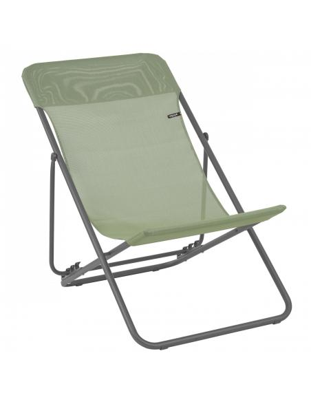 Chaise Longue Maxi Transat Batyline® Iso Lafuma Bain de soleil, chaise longue