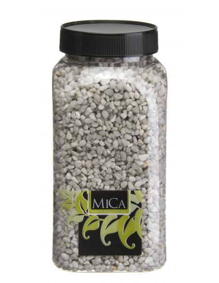 Gravier fin gris clair MICA Vases et fleuristerie