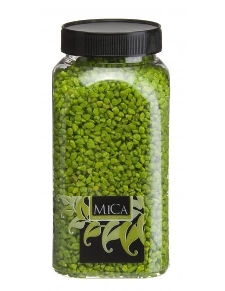 Gravier fin vert MICA Vases et fleuristerie