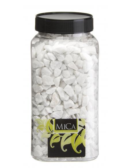 Gravier blanc MICA Vases et fleuristerie