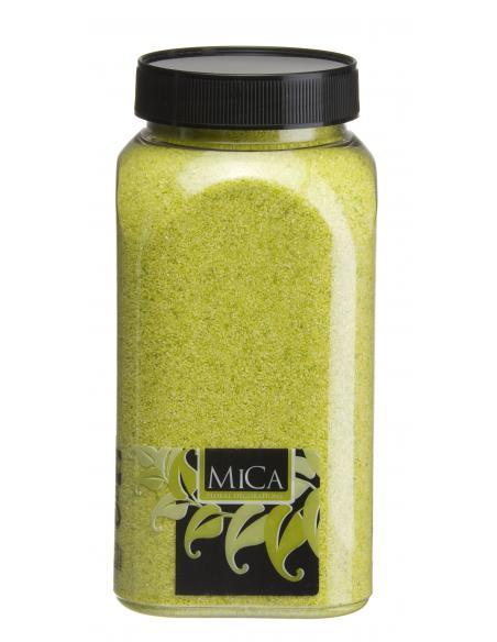 Sable vert clair MICA Vases et fleuristerie