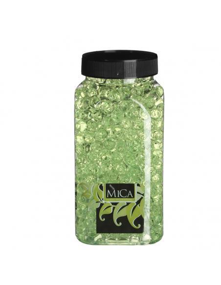 Billes d'eau verte claire MICA Vases et fleuristerie