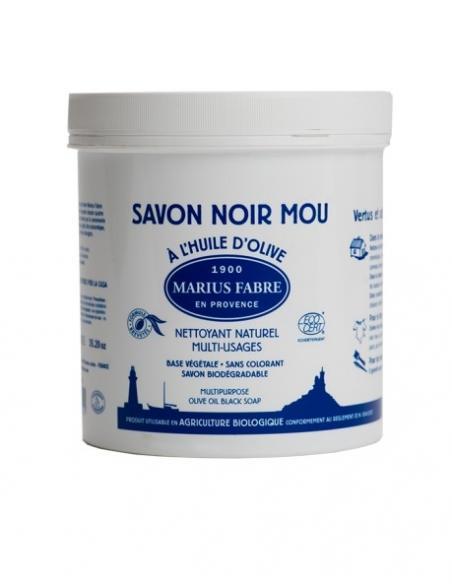 Savon noir mou 1kg Marius Fabre Savons et lessives au naturel