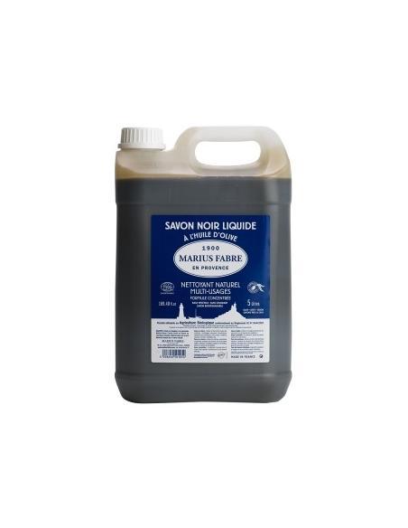 Savon noir liquide 5L Marius Fabre Savons et lessives au naturel