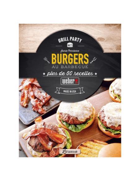 Burgers au barbecue Weber Livre de Cuisine
