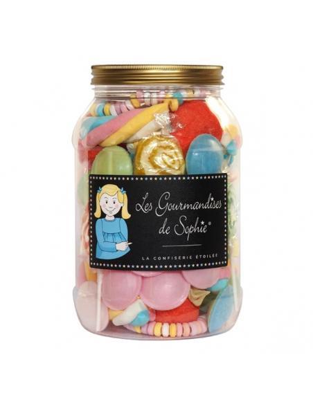 Mélange de confiseries en bocal Les gourmandises de Sophie Épicerie sucrée et salée