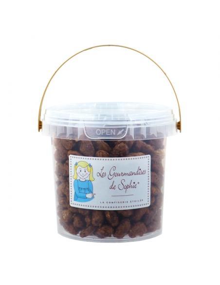 Cacahouette grillées sucrées grand seau Les gourmandises de Sophie Épicerie sucrée et salée