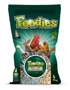 Aliment basse-cour concassé 5Kg Foodies Alimentations et accessoires