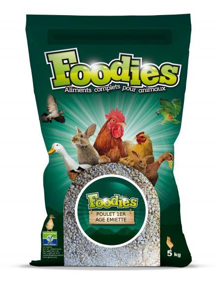 Aliment 1er Âge émietté 5Kg Foodies Alimentations et accessoires