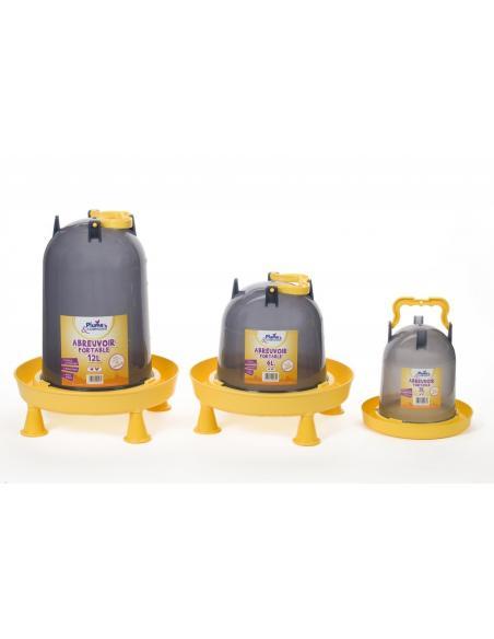 Abreuvoir portable 3L Plume & Compagnie Alimentations et accessoires