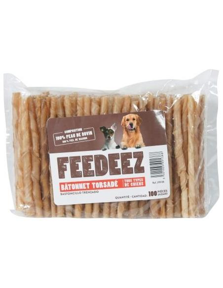 Feedeez - Bâtonnets torsadés x100 Feedeez Alimentation et accessoires