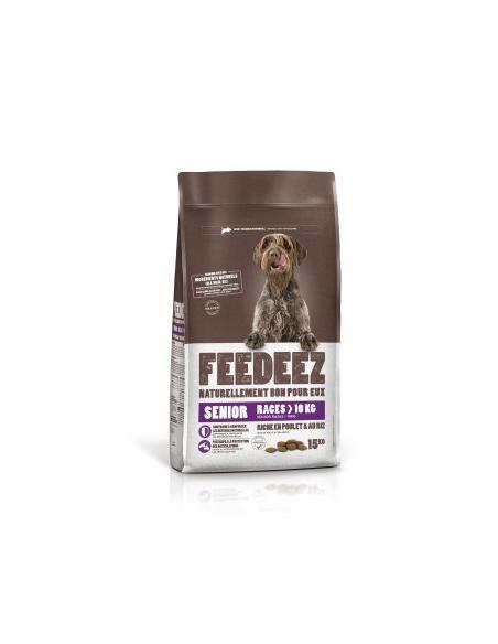 Feedeez - sénior +10 kg moyenne et grande race 15Kg Feedeez Alimentation et accessoires