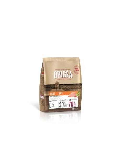 Origéa - chat adulte dinde/lapin 400Gr Origea Alimentation et accessoires