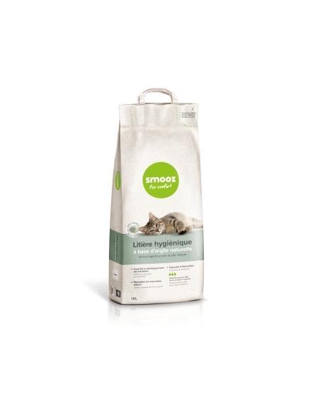 Smooz - Litière hygiène parfumée 16L Smooz Hygiène, soins et litières