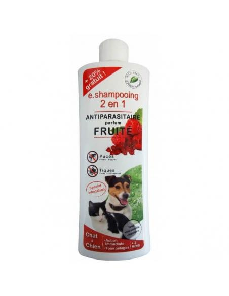 E.Shampooing 2en1 Fruité 250 ml Essentiel Hygiène et soins