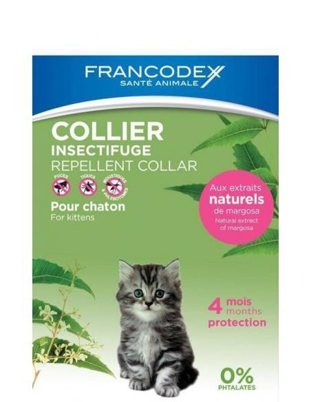 Collier Insectifuge Chaton Francodex Hygiène, soins et litières