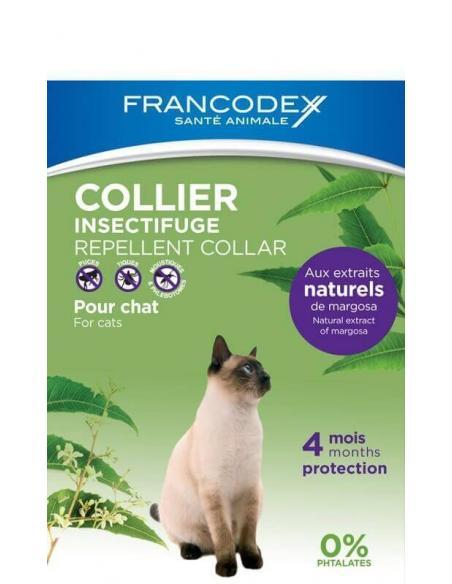 Collier Insectifuge Chat Francodex Hygiène, soins et litières
