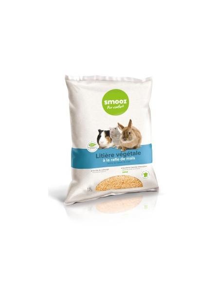 Smooz - Litière végétale de maïs 5L Smooz Hygiène et soins