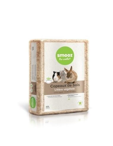 Smooz - Copeaux pour rongeur 60L Smooz Hygiène et soins