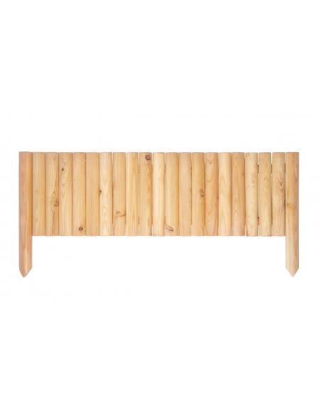 Bordure en bois L.100 x H.30/45 cm Robin Bordures