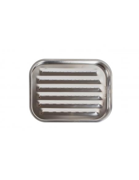 Grille anti flamme inox 32 5x24 5cm Somagic barbecue Cuisson et entretien