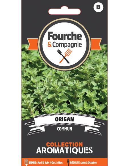 Origan Fourche et Compagnie Graines aromatiques