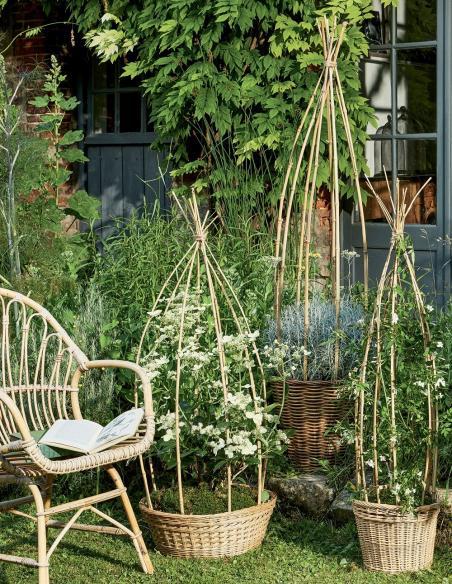 Tuteur Bambou Naturel 150 cm Windhager Tuteurage et autres accessoires