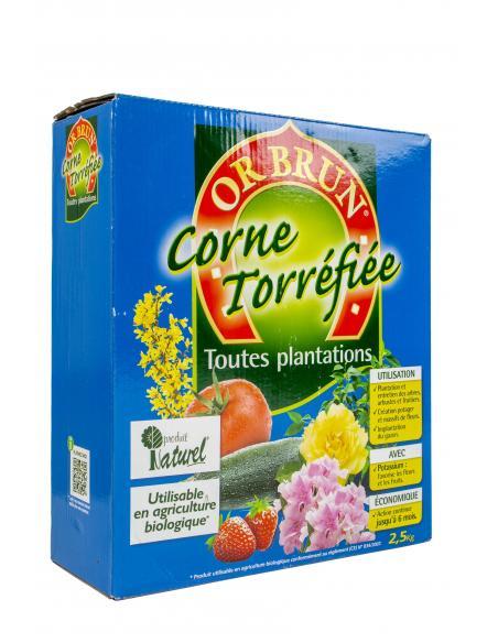 Corne + potasse 2,5Kg Or Brun Engrais