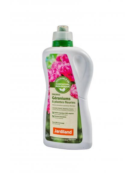 Engrais plantes fleuries liquide Jardiland 1L Jardiland Engrais