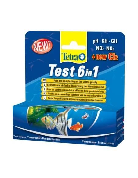 Tetra Test 6 en 1 Tetra Entretiens et soins