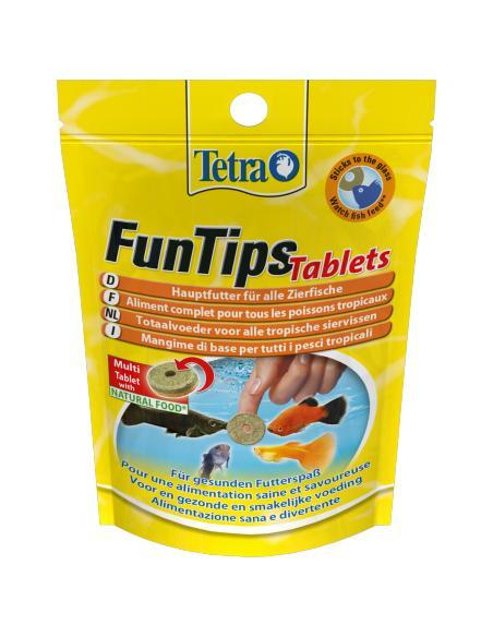 Tetra Funtips 20 tablettes Tetra Alimentation