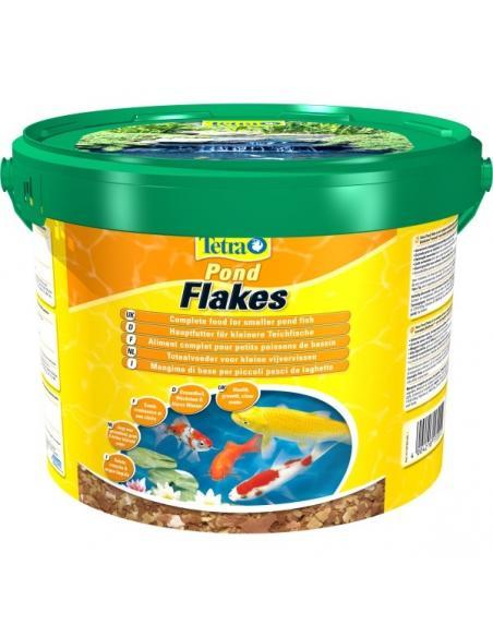 Tetra Pond flakes 10L Tetra Alimentation