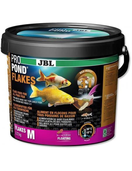 Jbl ProPond flakes M 5,5L JBL Alimentation