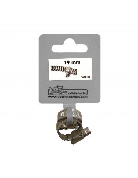 Collier de Serrage Galva X 2 Ø 19 mm Ubbink Equipements et accessoires