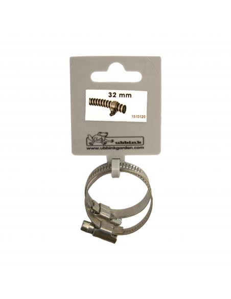 Collier de Serrage Galva X 2 Ø 32 mm Ubbink Equipements et accessoires