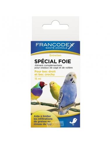 Spécial Foie 15ml Francodex Hygiène et soins