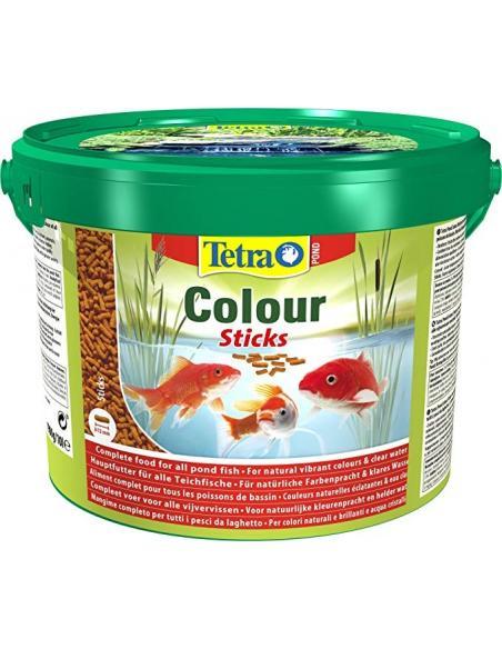 Tetra Pond Colour Sticks 10L Tetra Alimentation