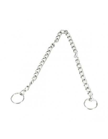 Collier métal étrangleur simple 50 Smooz Colliers, laisses, vêtements et éducation