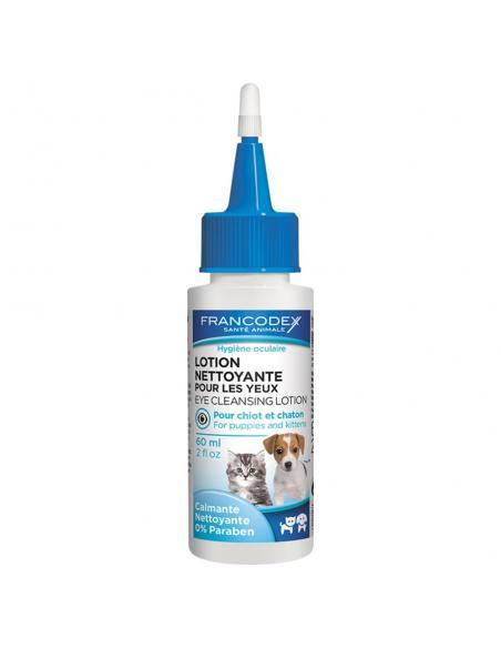 Lotion yeux chiot/chaton Francodex Hygiène et soins