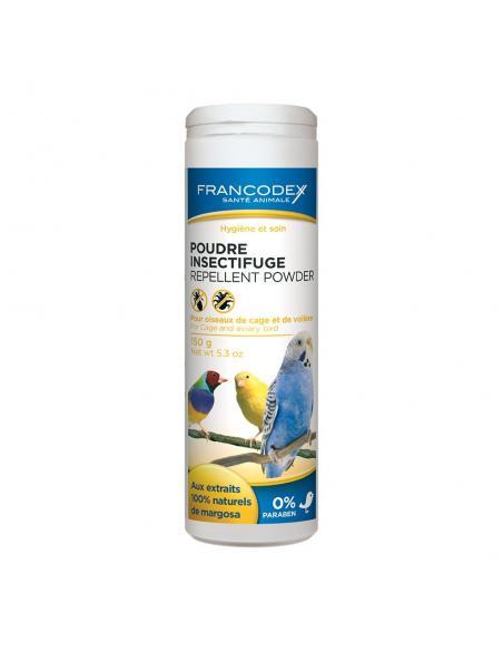 Poudre insectifuge pour oiseaux Francodex Hygiène et soins