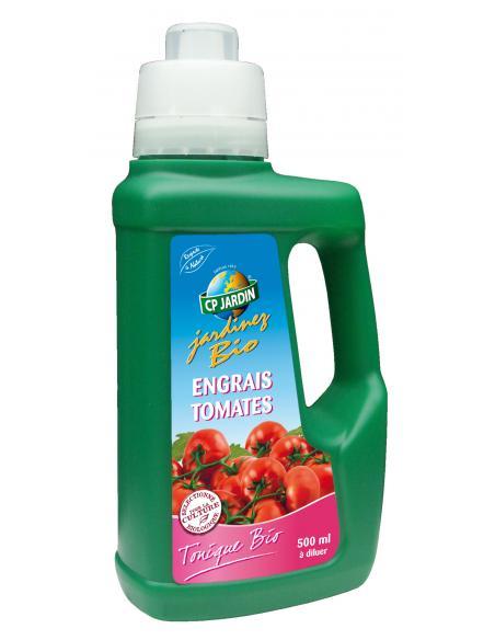 Engrais liquide foliaire tomates 500ml Cp Jardin Engrais